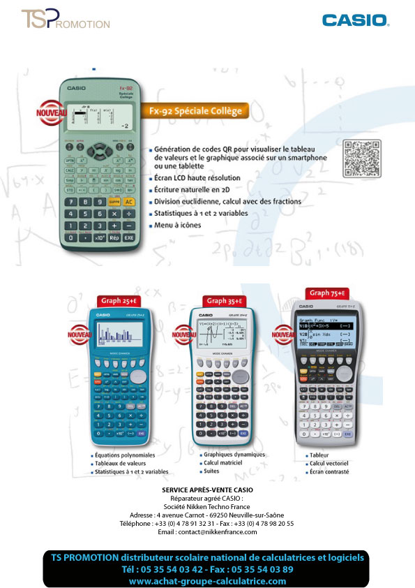 CASIO_CALCULATRICES_TSPROMOTION_2015